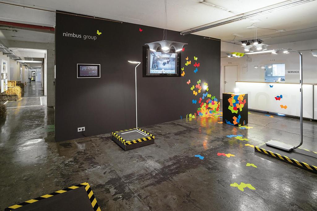 Mock-Up Stuttgart, Ausstellung, Labor und Schulungszentrum